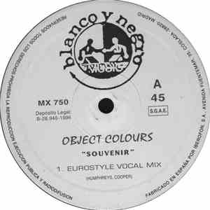 Object Colours - Souvenir download flac
