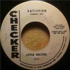 Little Milton - Satisfied / Someone To Love download flac