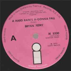 Bryan Ferry - A Hard Rain's A-Gonna Fall download flac