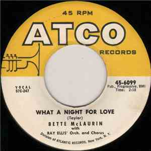 Bette McLaurin - What A Night For Love download flac