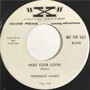 Peppermint Harris - Need Your Lovin' / Just Me And You download flac