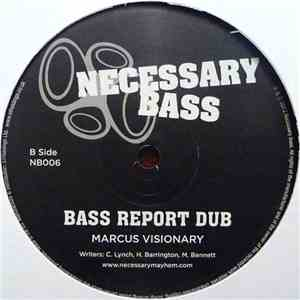 Marcus Visionary - Bass Report download flac