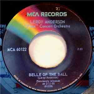 "Leroy Anderson ""Pops"" Concert Orchestra - Belle Of The Ball / Blue Tango download flac"
