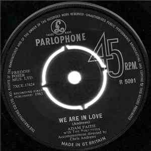 Adam Faith With The Roulettes - We Are In Love download flac