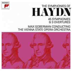 Max Goberman, The Vienna State Opera Orchestra - The Symponies Of Haydn - 45 Symphonies & 3 Overtures download flac
