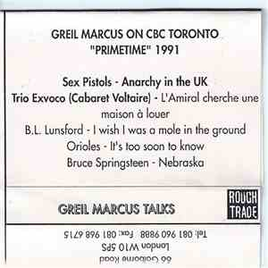 Greil Marcus - Greil Marcus Talks download flac