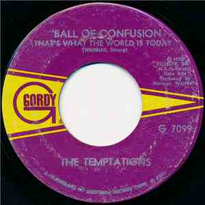 The Temptations - Ball Of Confusion (That's What The World Is Today) download flac