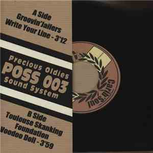 The Groovin' Jailers / Toulouse Skanking Foundation - Write Your Line / Voodoo Doll download flac